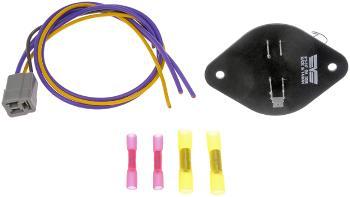 1991 chevrolet r2500-suburban HVAC Blower Motor Resistor Kit Dorman 973537