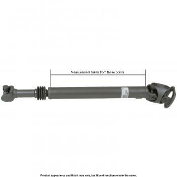 1992 dodge ramcharger Drive Shaft  - Front A1 Cardone 659875